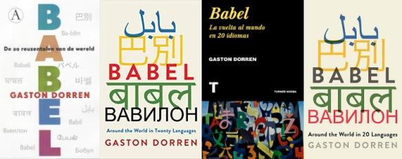 Babel omslagen NL US ES UK